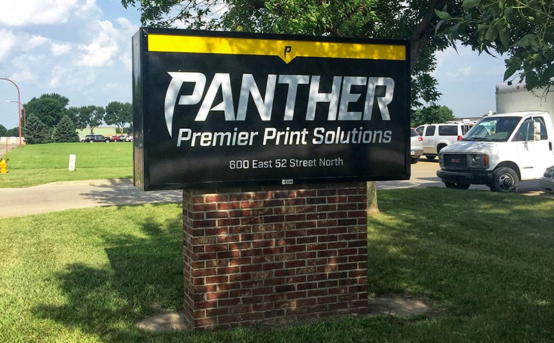 panther building sign